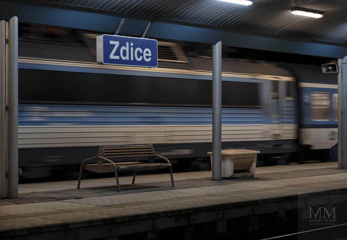Railway station Zdice after two years - part 2.