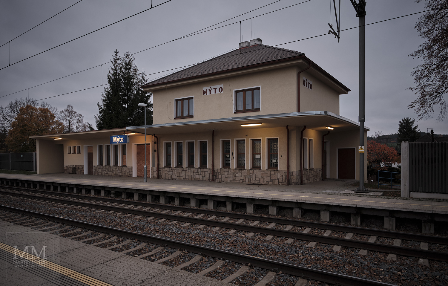 Photographic report from railway station Myto by Martin Mojzis.
