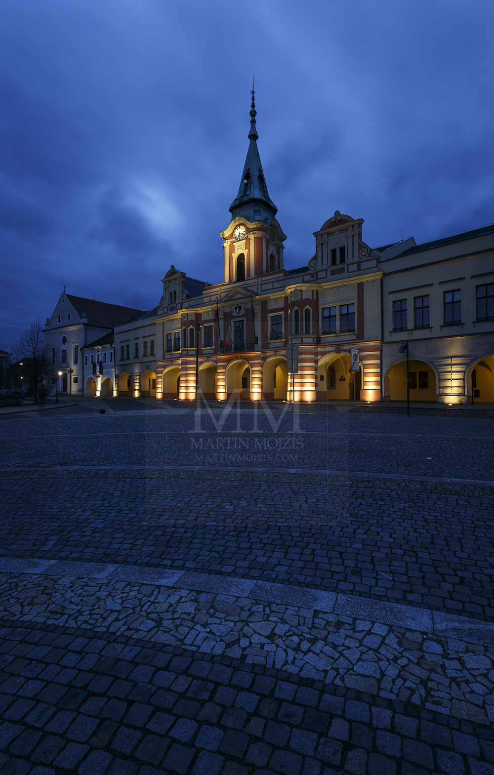 Melnik Town (City) Hall. Photograph © Martin Mojzis.